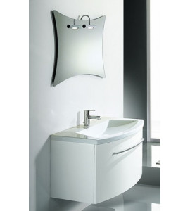 Contemporary modern bathroom modern suspended cabinet - Rubinetteria ...