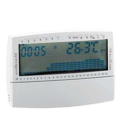 Thermostat d'ambiance programmable Caleffi 739