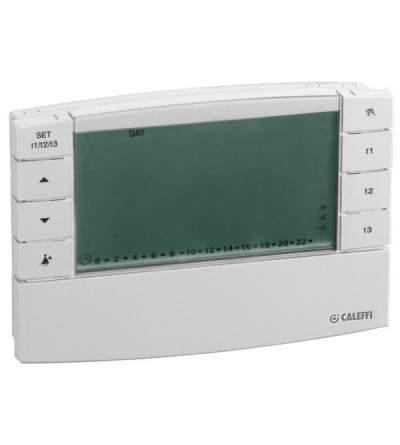 Chronothermostat d'ambiance numérique caleffi 738217