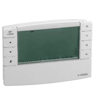 Digital chrono-thermostat caleffi 738217