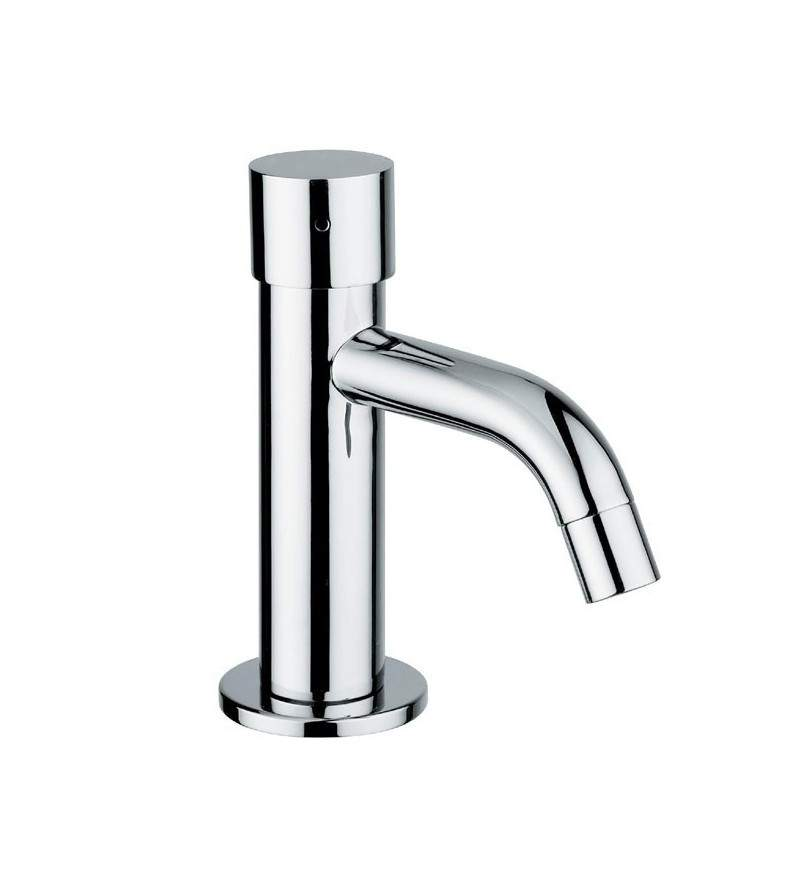 Basin tap with timed stop and push-button control Idral 08111-08111/PM