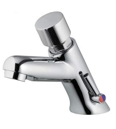Mezclador temporizado con pulsador para lavabo IDRAL 08212