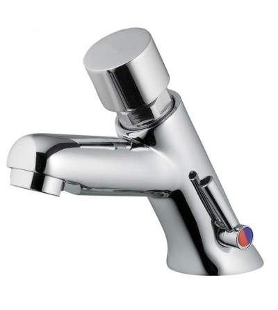 self closing push button basin mixer Idral 08212