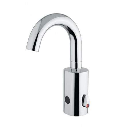 Electronic basin mixer operated by infrared sensor IDRAL 02504