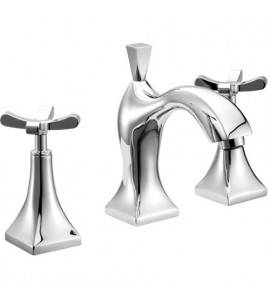Three holes basin mixer with pop-up waste Effepi CHIC 7 CENTO 43037