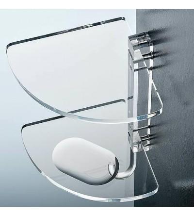 porta oggetti Angolare per docciaTL BATH Art. 0605
