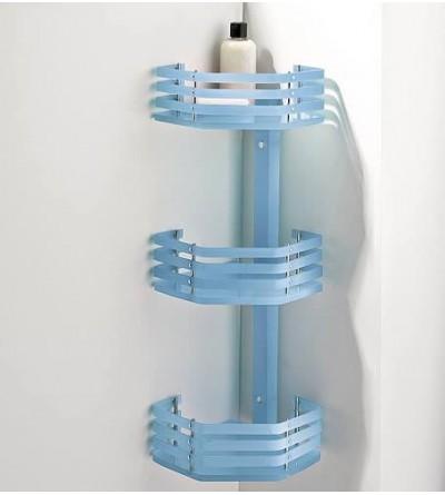 Corner shelf for shower 3 shelves TL.Bath For.Box 1334