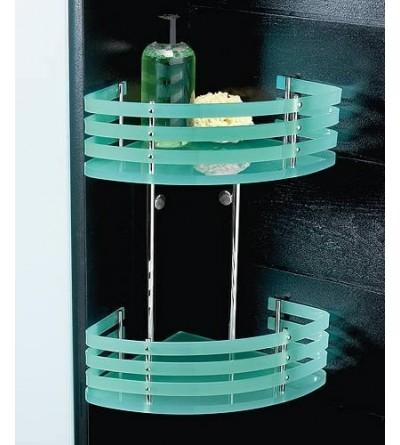 Corner shelf for shower 2 shelves TL.Bath For.Box 1323