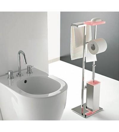 Floor lamp in brass and plexiglass TL.Bath Eden 875