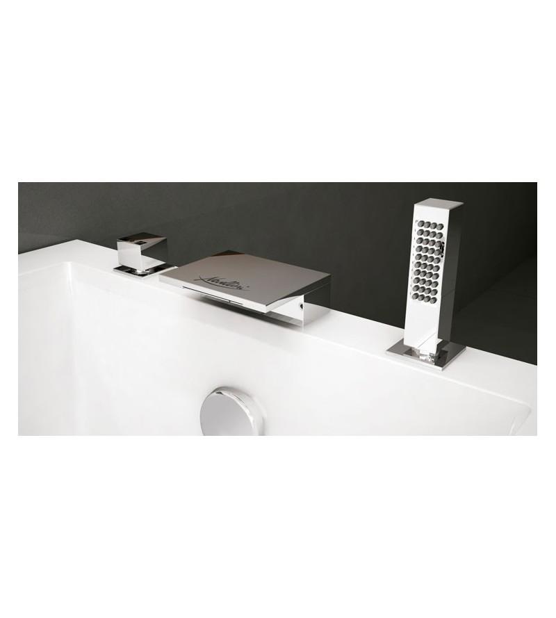 Deck mounted bath mixer...
