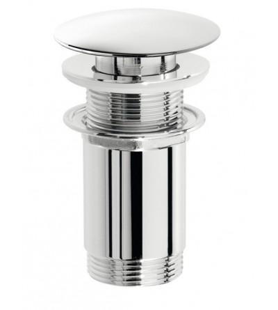 Piletta click clack tonda in ottone s/troppo pieno - Pollini Acqua Design 803140028