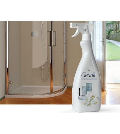 Detergente Cleanit cura del bagno - Superfici Dure - Novellini KITPUPV12