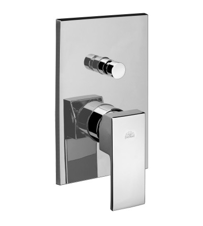 Concealed shower mixer with diverter Paffoni LES/LEC/LEA015