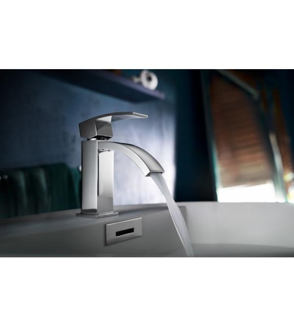 einhand waschtischmischer mit push open ablaufventil nobili ray ry00118 1 rubinetteria shop. Black Bedroom Furniture Sets. Home Design Ideas