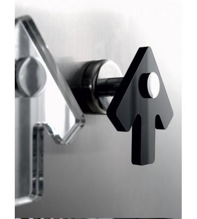 Appendiabito singolo installazione adesiva TL.Bath Stick K306