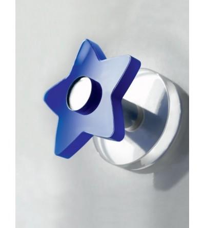 Appendiabito singolo installazione adesiva a stella TL.Bath Stick K303