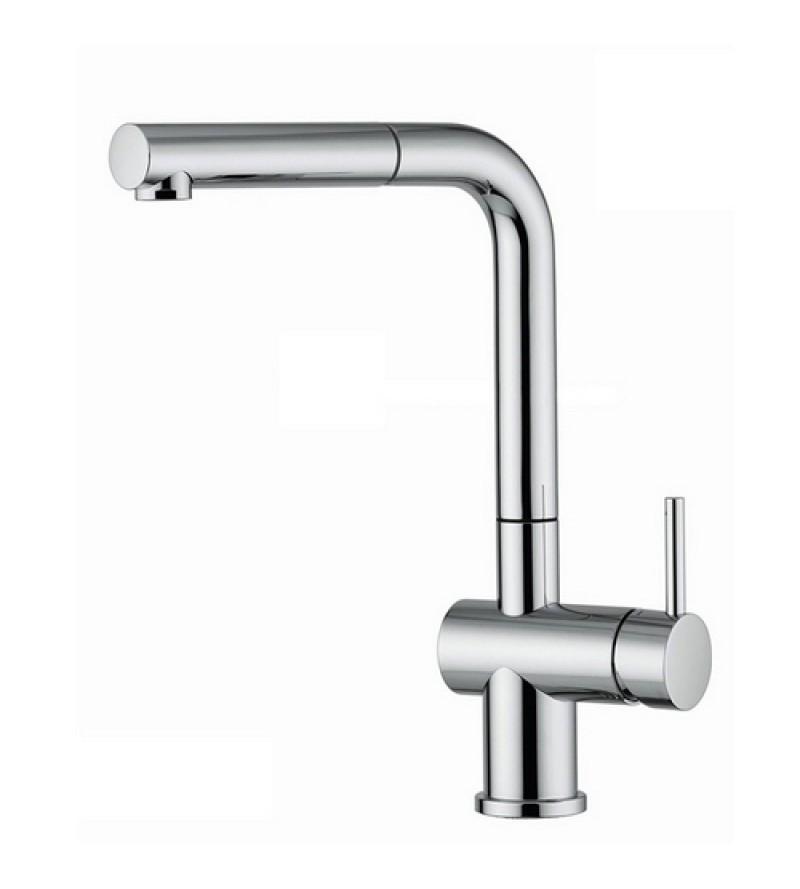 Miscelatore per Lavello cucina doccia estraibile Nobili Live LV00117