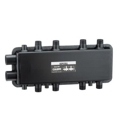 SEPCOLL - Séparateur hydraulique-collecteur. 2+2 CALEFFI 559022