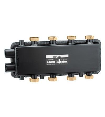 SEPCOLL - Séparateur hydraulique-collecteur. 2+2 caleffi 559222