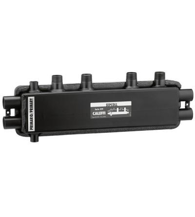 SEPCOLL - Séparateur hydraulique-collecteur. 2+1 caleffi 559021