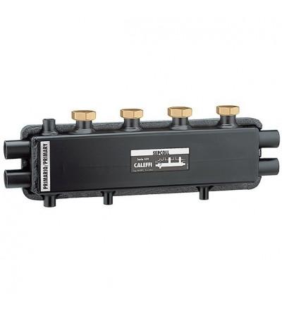 SEPCOLL - Séparateur hydraulique-collecteur. 2+1 caleffi 559221