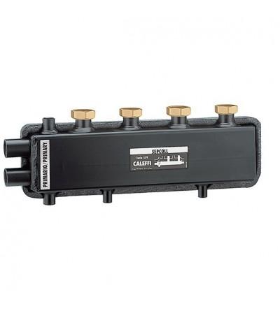 SEPCOLL - Séparateur hydraulique-collecteur. 2 caleffi 559220