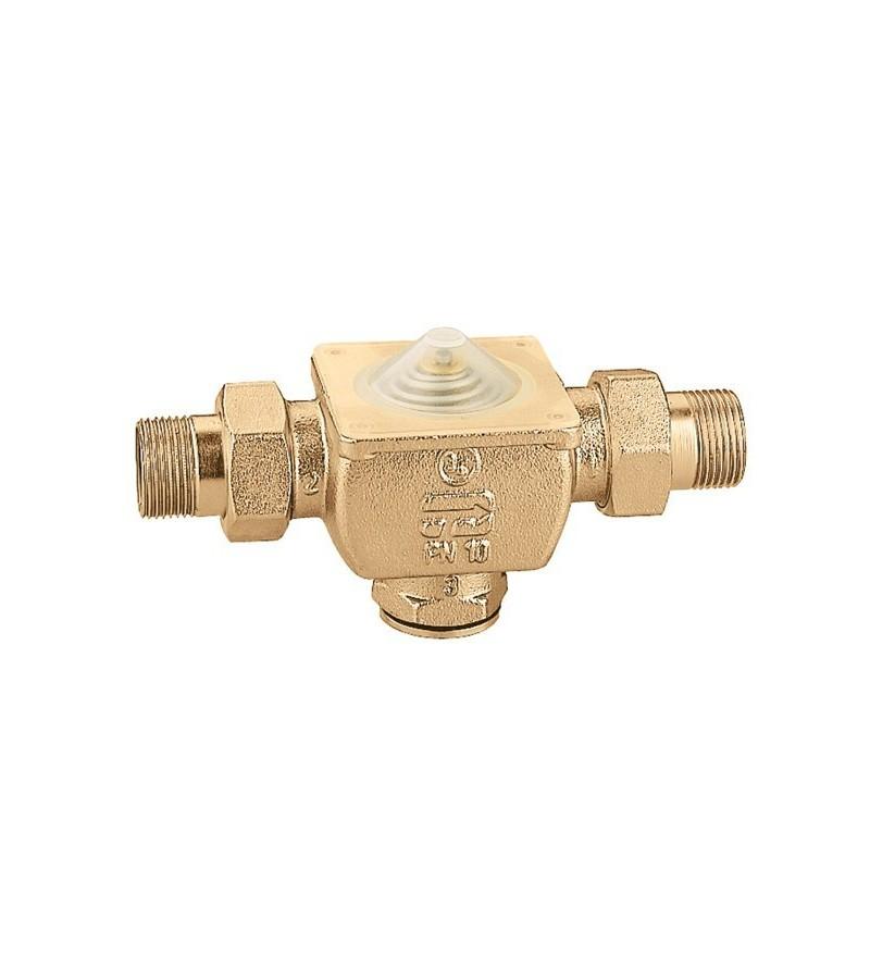 Two-way piston zone valve...