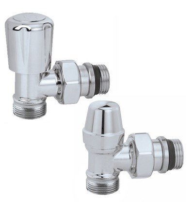 Caleffi 338040 Válvulas termostatizables para radiadores toalleros