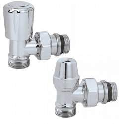 Pair of thermostatic valves...
