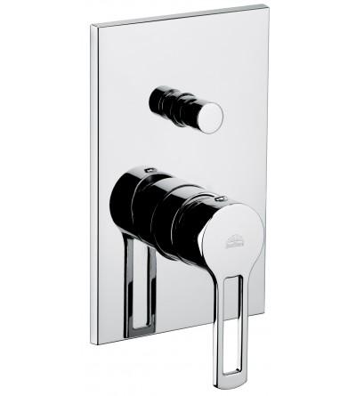 Mitigeur de douche avec inverseur Paffoni RINGO RIN015 WEST WS015