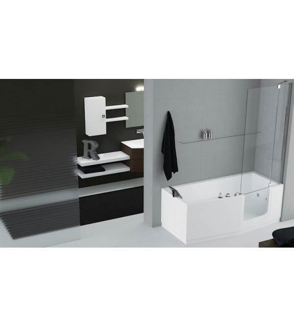 baignoire avec un acc s f cil avec mitigeur sur gorge novellini iris rubinetteria shop. Black Bedroom Furniture Sets. Home Design Ideas