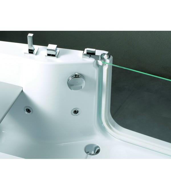 baignoire pour les personnes g es hydromassage plus novellini iris rubinetteria shop. Black Bedroom Furniture Sets. Home Design Ideas
