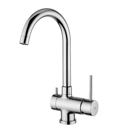 One hole kitchen mixer with Dish Washer Valve Paffoni Stick SK184