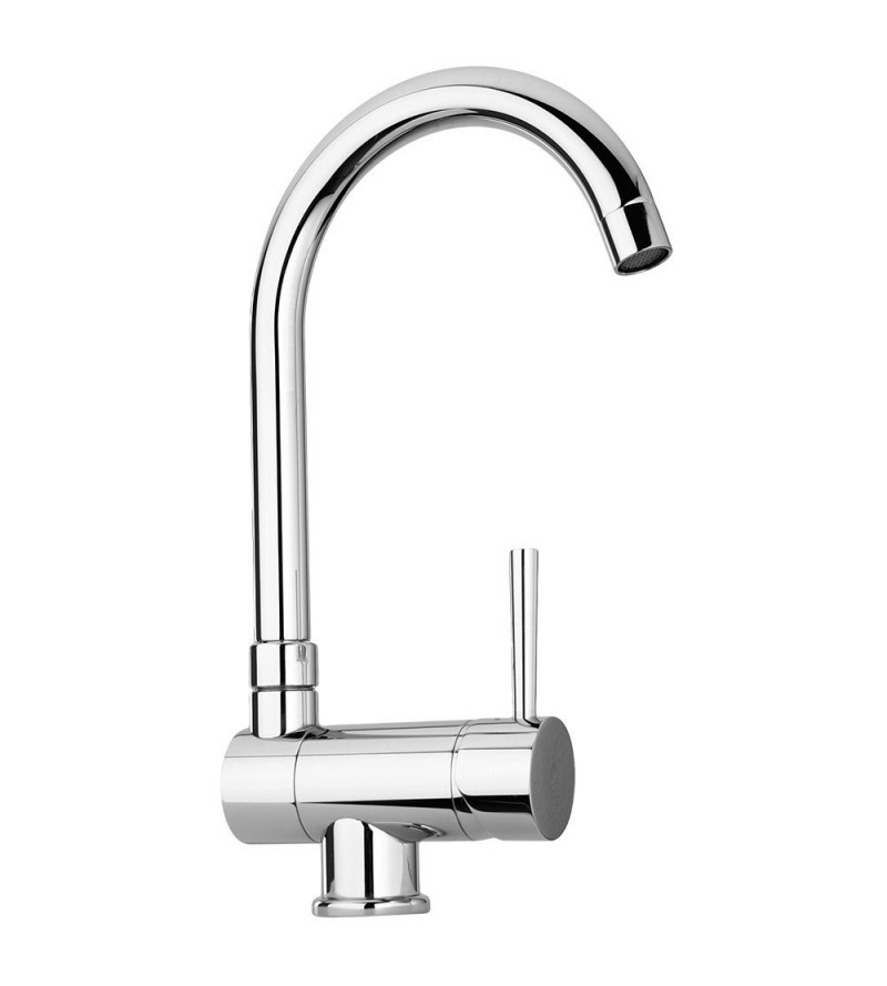 Sink mixer with reclining...