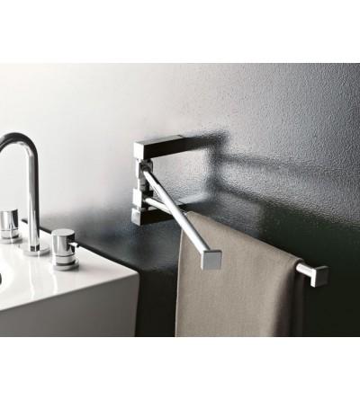 Portasalviette doppio orientabile Tl.bath EDEN Art. 4519