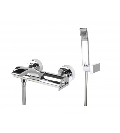 Webert wolo WO850101 Single Level bath mixer with shower set complete
