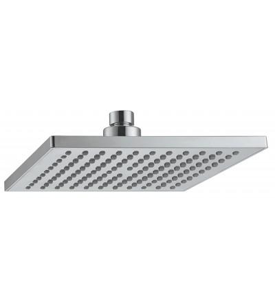 Tête de douche carrée ABS Pollini Acqua Design EBS20020AB