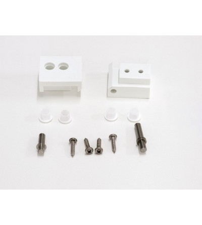 Bllows swiveel assembly for Shower enclosures Samo America RIC1212
