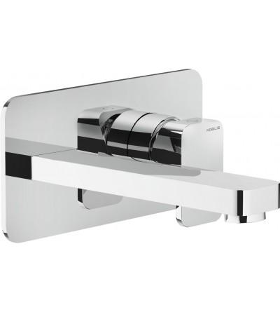 concealed wall-mounted basin mixer NOBILI LOOP LP90198CR