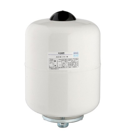 Welded expansion vessel, for domestic hot water storage caleffi 5557