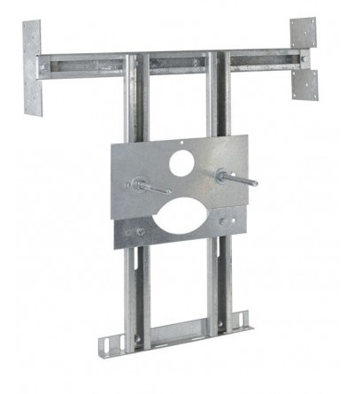 metal stucture for plasterboard for fixing hanging wc Idral 15150/2-CG