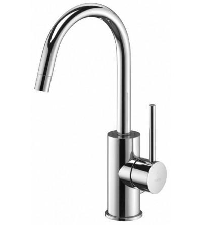 Wash basin mixer high spout Paffoni Light LIG078