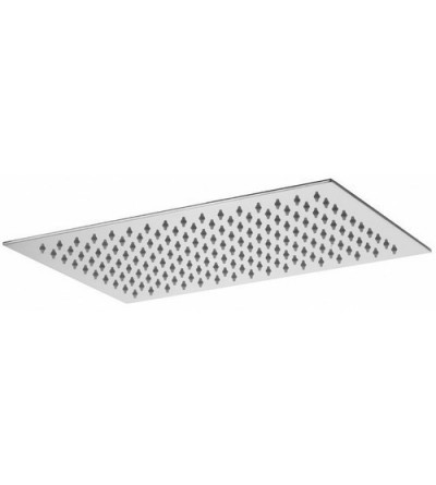 Rectangular shower head 340x250 Paffoni BLANC ZSOF102cr
