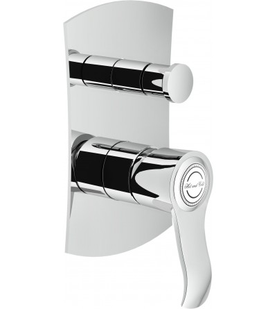 Single lever bath and shower mixer for concealed installation with 2 outlets diverter Nobili Sofì SI98100