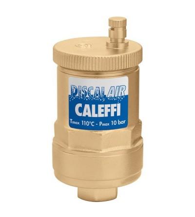 Válvula automática de purga de aire de elevadas prestaciones caleffi 551004
