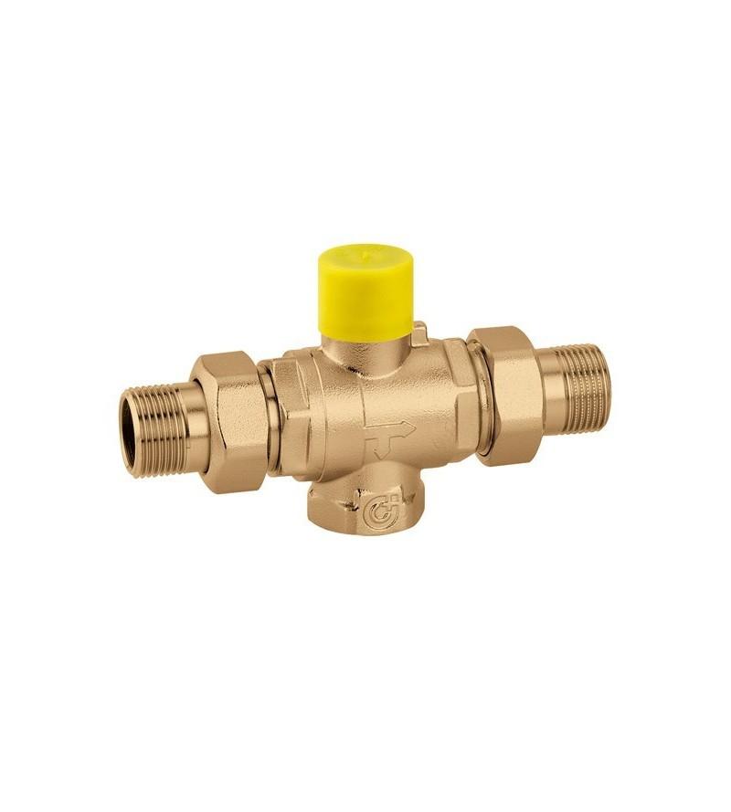 Three-way ball zone valve....
