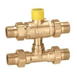 Three-way ball zone valve...