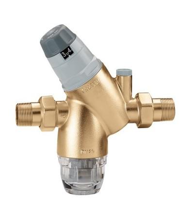 caleffi 5351 - Riduttore di pressione con attacco manometro