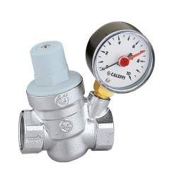 Inclined pressure reducer...