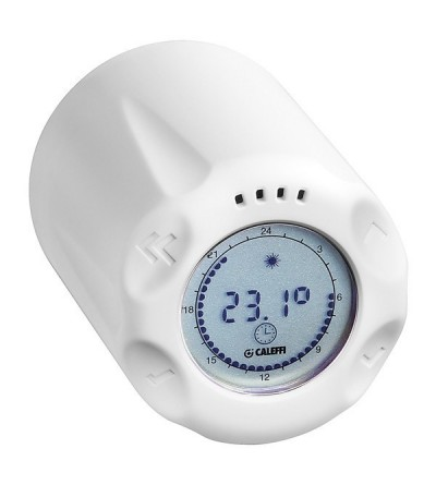 Stand-alone chrono-thermostatic control head WiCAL® caleffi 210500